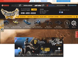 birdsofpreymotorsports.com screenshot
