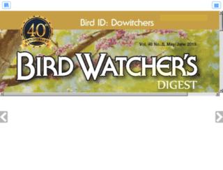 birdwatchersdigest-digital.com screenshot