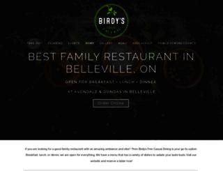 birdysdining.ca screenshot