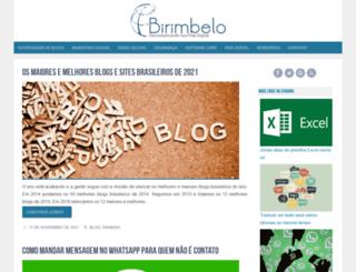 birimbelo.com.br screenshot