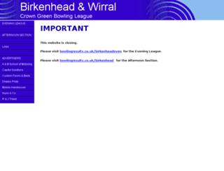 birkenheadbowls.sharepoint.com screenshot