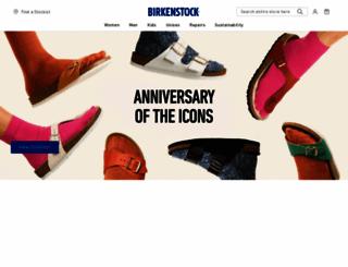 birkenstock.com.au screenshot