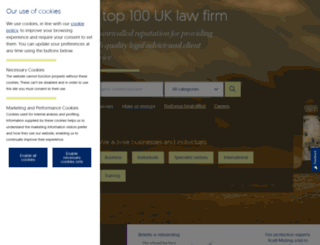 birketts.co.uk screenshot