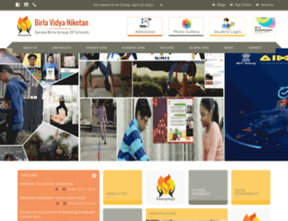birla.ac.in screenshot