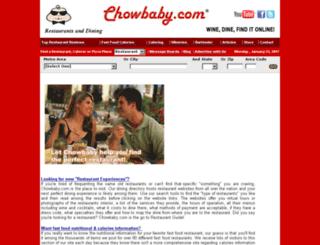 birmingham.chowbaby.com screenshot