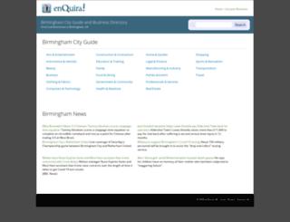 birmingham.enquira.co.uk screenshot