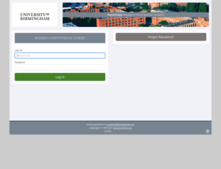 birmingham.sona-systems.com screenshot