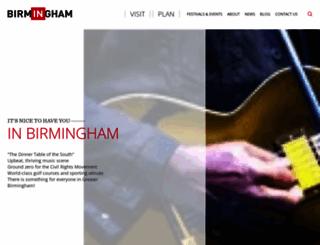 birminghamal.org screenshot