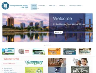 birminghamwaterworks.com screenshot