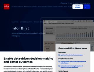 birst.com screenshot