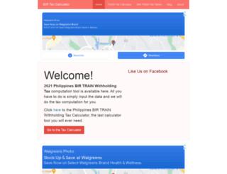 birtaxcalculator.com screenshot
