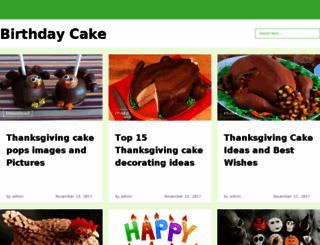 birthday-cake-pictures.com screenshot