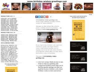 birthday-wishes-greetings.com screenshot