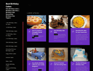 birthdaycake-s.com screenshot