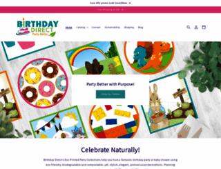 birthdaydirect.com screenshot
