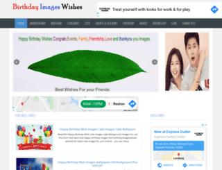 birthdayimageswishes.com screenshot