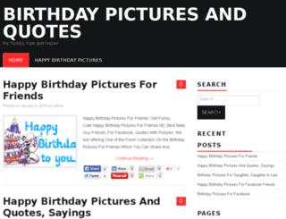 birthdaypictures.org screenshot