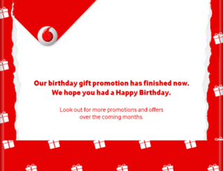 birthdays.vodafone.co.uk screenshot