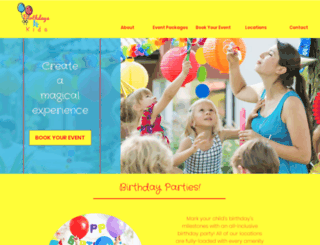 birthdays4kids.com screenshot