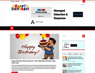 birthdaywishesquote.com screenshot