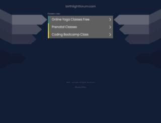 birthlightforum.com screenshot