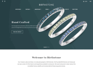 birthstone.com screenshot