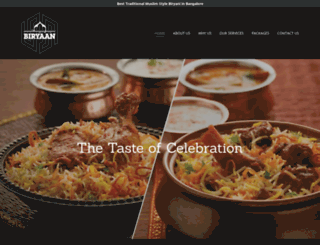 biryaan.com screenshot