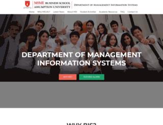 bis.au.edu screenshot