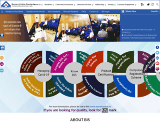 bis.org.in screenshot