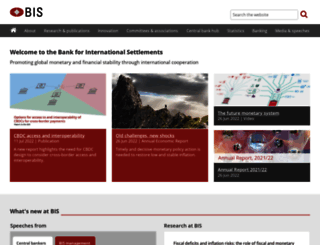 bis.org screenshot