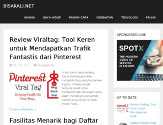 bisakali.com screenshot