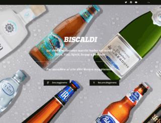 biscaldi.com screenshot