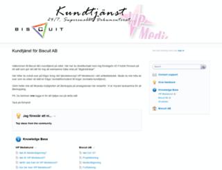 biscuitab.uservoice.com screenshot