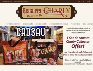 biscuits-charly.fr screenshot
