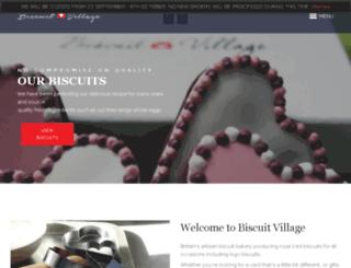 biscuitvillage.co.uk screenshot