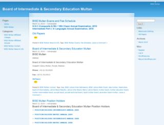 bisemultan.wordpress.com screenshot