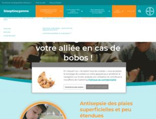 biseptine-gamme.fr screenshot