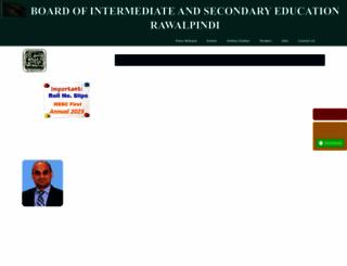 biserawalpindi.edu.pk screenshot