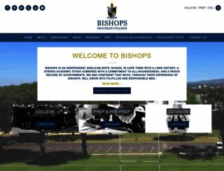 bishops.org.za screenshot