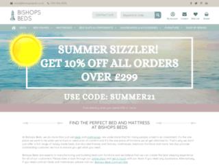 bishopsbeds.co.uk screenshot