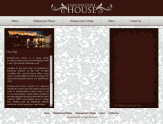 bishopscourthouse.co.za screenshot