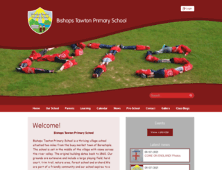 bishopstawton-primary.devon.sch.uk screenshot