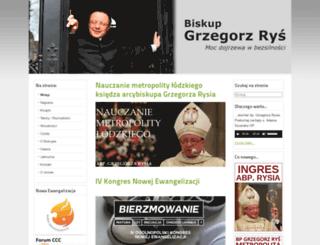biskup-rys.pl screenshot