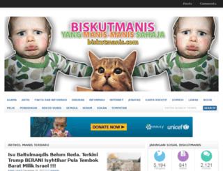 biskutmanis.com screenshot