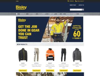 bisley.com.au screenshot
