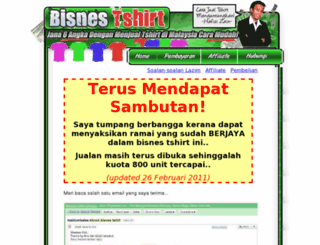 bisnestshirt.com screenshot