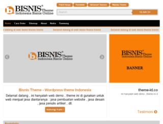 bisnis.virtarichtheme.com screenshot