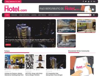 bisnishotel.com screenshot