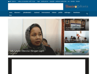 bisnisjakarta.com screenshot