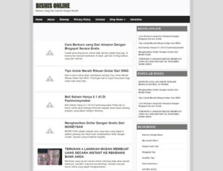 bisnisonline-jacky.blogspot.com screenshot